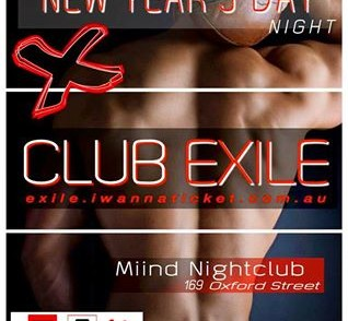 Club Exile – 1 January 2016