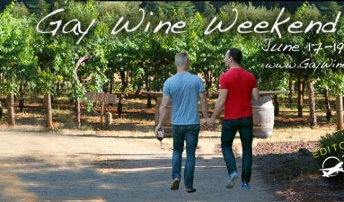 Gay Wine Weekend – 17 to 19 June 2016