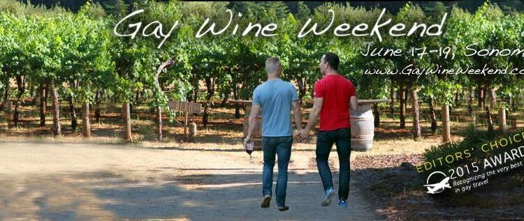 Gay Wine Weekend – 17 to 19 June 2016