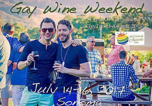 Gay Wine Weekend – 14 to 16 July 2017